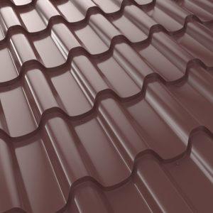 """Металлочерепица 350/27 """"Premium Plus"""" 1140/1020, U.S.Steel, High Build, 0,50мм,"""
