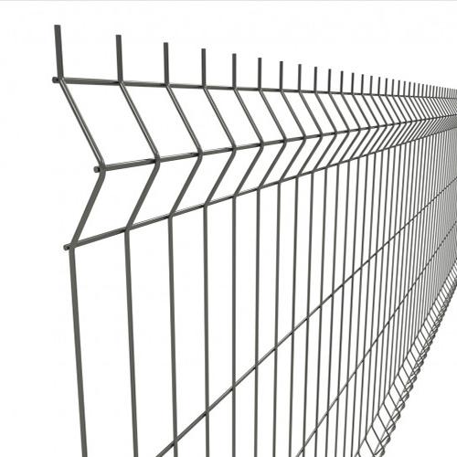 "3Д забор из сварной сетки ""ЭКО КОЛОР"" d=3.0/4.0мм, 1230х2500 мм"