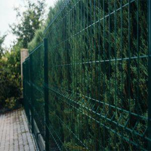 "3Д забор из сварной сетки ""СТАНДАРТ КОЛОР"" d=5.0/5.0мм, 1530х2500 мм"