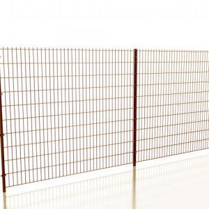"Забор из сварной сетки ""ДУОС СТАНДАРТ"" d=5.0+2х6.0мм, 1830х2500 мм"