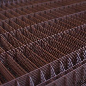 "3Д забор из сварной сетки ""СТАНДАРТ КОЛОР"" d=5.0/5.0мм, 1230х2500 мм"