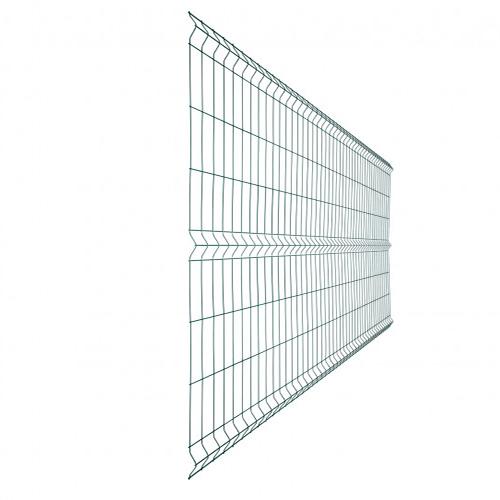 "3Д забор из сварной сетки ""СТАНДАРТ КОЛОР"" d=5.0/5.0мм, 2400х2500 мм"